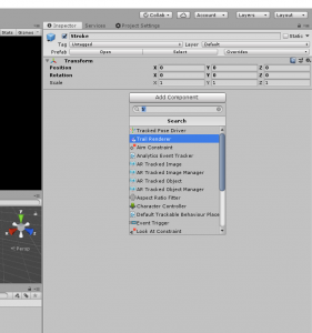 Trail Renderer component in Unity Inspector