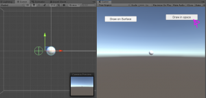 Unity drawing app test with right button