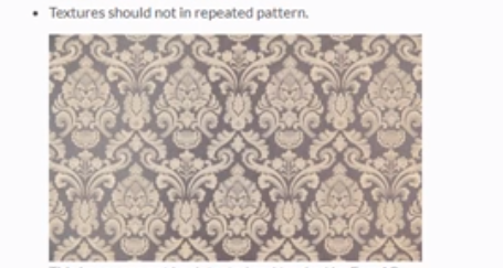 Repeated pattern image which should not be used for EasyAR Image targets